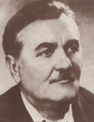 Kishegyes település szülötte, Csépe Imre író arcképe